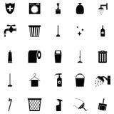 L'icona pulita Immagine Stock Libera da Diritti