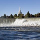 l'Idaho tombe borne limite Images libres de droits