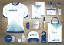 L'identità corporativa di affari degli articoli da regalo, Vector il colore che astratto i ricordi promozionali progettano con gl
