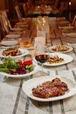 L'IDIOT restauracja Zdjęcia Royalty Free