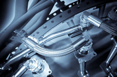 L'idraulica Fotografia Stock