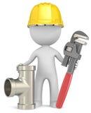 L'idraulico Fotografia Stock