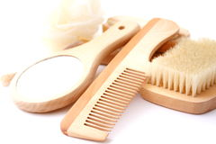 L'igiene dei capelli Fotografia Stock