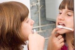 L'igiene dentale Immagini Stock