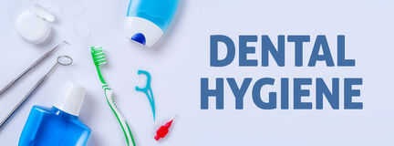 L'igiene dentale immagini stock libere da diritti