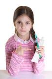 L'igiene orale Immagine Stock