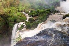 Les chutes d'Iguacu Photographie stock libre de droits