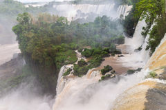 Les chutes d'Iguacu Image stock