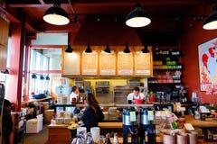 L'IL Cane Rosso Restaurant Fotografia Stock