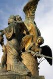 L'IL Pensiero da Giulio Monteverde, sul Vittoriano a Roma Immagine Stock