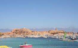 L'ille Rousse, Corsica. Stock Images