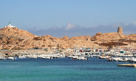 L'ille Rousse, Corsica. Royalty Free Stock Images