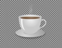 L'illustration chaude de tasse de café a isolé photo libre de droits