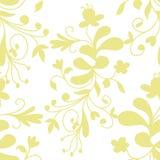 L'illustration courante soustraient le modèle sans couture floral illustration stock