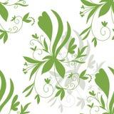 L'illustration courante soustraient le modèle sans couture floral illustration de vecteur