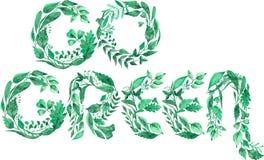 L'illustration d'aquarelle de moderne disparaissent moto vert d'environnement d'isolement sur le fond blanc illustration de vecteur