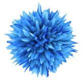 l'illustration 3D de l'objet tridimensionnel aiment un virus Image stock