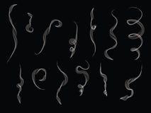 L'illustration de fume Images libres de droits