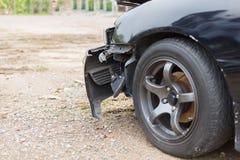 l'illustration de véhicule des accidents 3d a isolé le blanc rendu Images stock