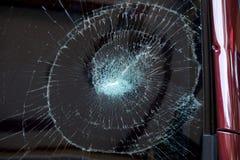 l'illustration de véhicule des accidents 3d a isolé le blanc rendu la voiture en verre avant sont cassée image pour la voiture, v Photos libres de droits