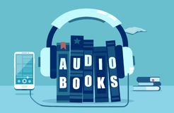 L'illustration de vecteur de l'audio réserve le concept illustration de vecteur