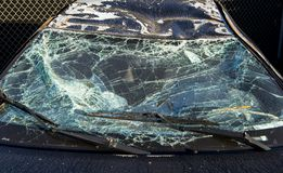 l'illustration de véhicule des accidents 3d a isolé le blanc rendu Photo libre de droits