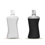 L'illustration des bouteilles de shampooing raillent  Photo libre de droits