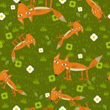 L'illustration de labourage - style de bande dessinée - illustration pour les enfants - bons pour l'emballage - papier peint - etc Photographie stock libre de droits