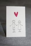 l'illustration s de coeur de vert de dreamstime de conception de jour de carte stylized le vecteur de valentine Photographie stock
