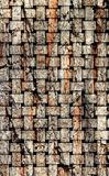 L'illustration sur la base de la texture en bois Photo libre de droits