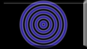 l'illustrazione 3d di un'immagine di sfondo dell'estratto di colore primario circonda Fotografia Stock