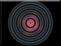l'illustrazione 3d di un'immagine di sfondo dell'estratto di colore primario circonda Immagine Stock Libera da Diritti