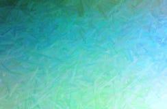 L'illustrazione della spazzola lunga verde segna il fondo pastello della pittura, digitalmente generato royalty illustrazione gratis