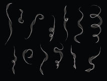 L'illustrazione di fuma immagini stock libere da diritti
