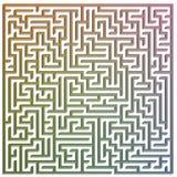 labirinto 3D Immagine Stock