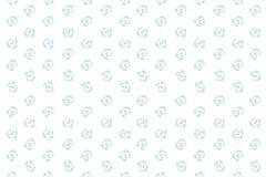 L'illustrazione di una struttura del colorato di ripetersi si sviluppa a spirale illustrazione di stock