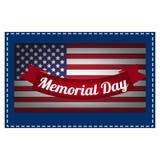 L'illustrazione su Memorial Day Illustrazione di Stock