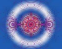 L'image abstraite de fractale de couleur. Photos libres de droits