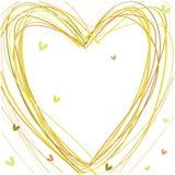 L'image avec le coeur. Photo stock