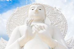 L'image blanche de Bouddha Image stock