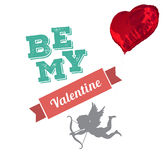 L'image composée de soit ma valentine Photo stock