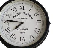 l'image d'horloge numérote le vieux temps romain photographie stock libre de droits