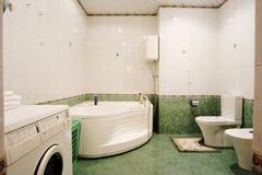 L'image d'un appartement habité de multiroom Photos libres de droits