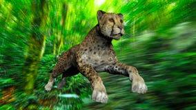 L'image d'un gepard Photo libre de droits