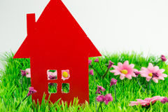 L'image de concept de font votre maison Image stock
