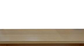 l'image de la table en bois devant le résumé a brouillé le fond de Photo stock