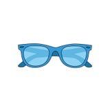 L'image de vecteur Lunettes de soleil d'été d'icône illustration libre de droits