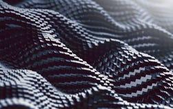 L'image haute étroite des cubes engrènent et ondulent le fond abstrait illustration stock