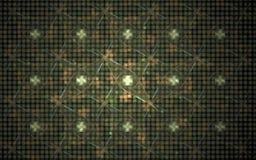 L'image produite par Digital faite en fractale colorée pour servir de contexte aux projets s'est rapportée à l'imagination, créat Images stock