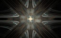 L'image produite par Digital faite en fractale colorée pour servir de contexte aux projets s'est rapportée à l'imagination, créat Photos libres de droits